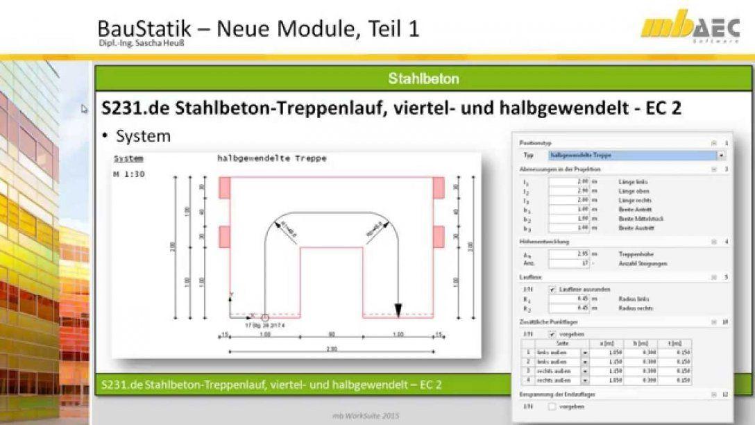S231 Stahlbetontreppenlauf Viertel Und Halbgewendelt  Ec 2 von 1 4 Gewendelte Treppe Berechnen Bild