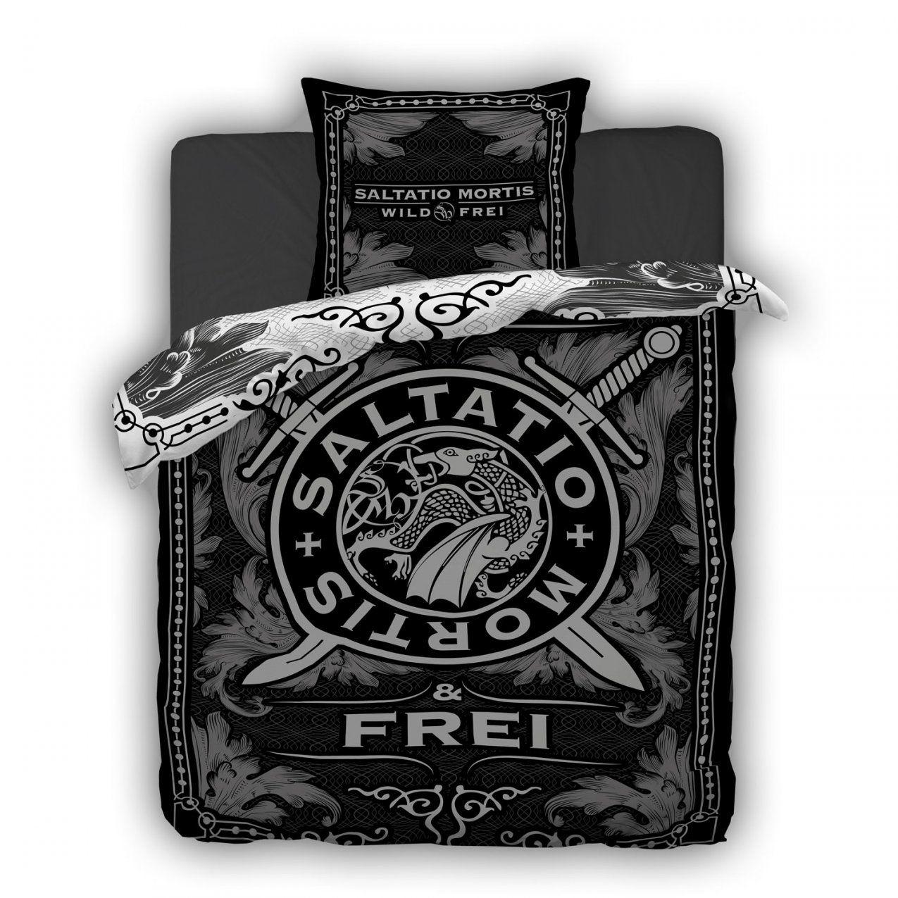Saltatio Mortis Shop  Wild & Frei  Saltatio Mortis  Bed Linen von Frei Wild Bettwäsche Bild
