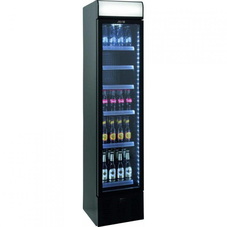 Saro Schmale Flaschen Kühlschrank Mit Glastür  40 Cm Breite von Kühlschrank Schmal 40 Cm Photo