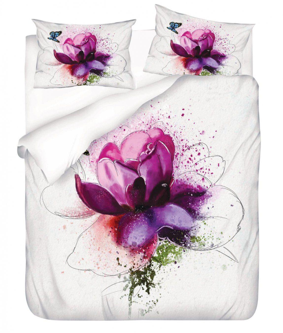 Satinbettgarnitur Kalliopi Kaufen  Angela Bruderer Onlineshop von Bettwäsche Mit Orchideen Motiv Bild
