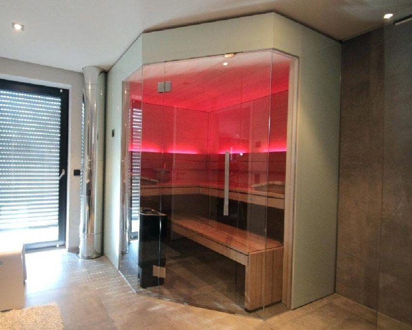 Sauna Im Keller Anzeige Abluft Einbauen Selber Bauen von Sauna Im Keller Was Beachten Bild