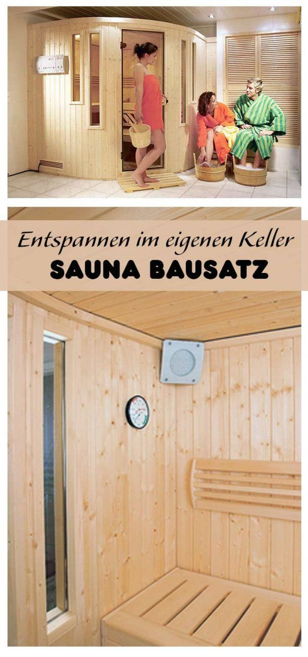 sauna im keller selber bauen haus design ideen. Black Bedroom Furniture Sets. Home Design Ideas