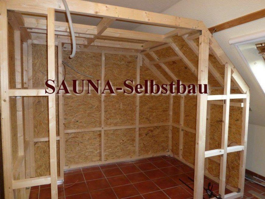 Saunaselbstbau  Youtube von Sauna Im Keller Selber Bauen Bild