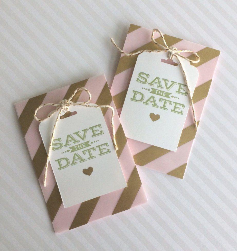 Savethedatekarte – Kinderleicht Selbst Gemacht – Hochzeit Planen von Save The Date Karten Basteln Bild