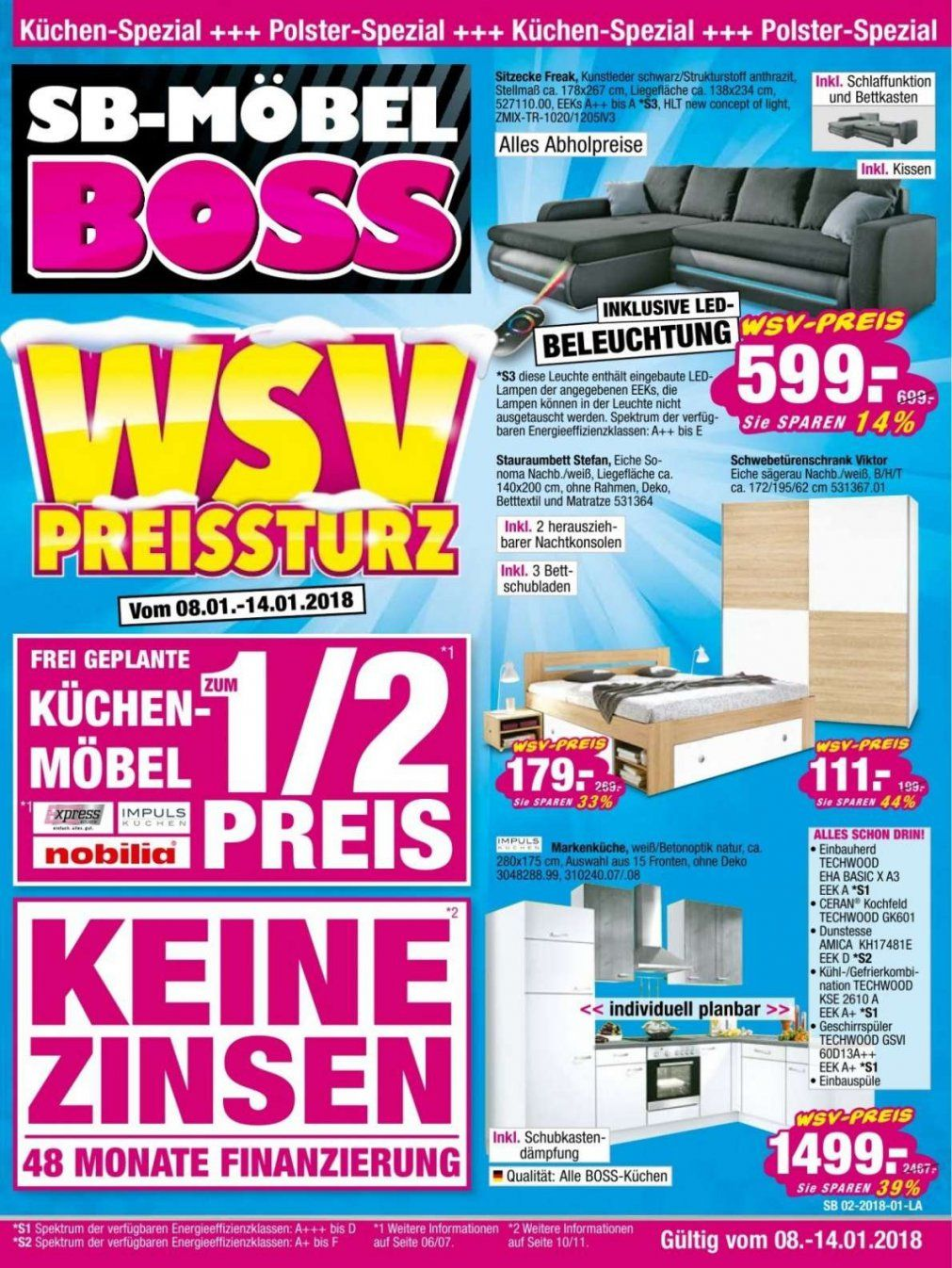 m bel boss aachen mit sb prospekte in wiesbaden angebote aktionen 12 von m bel boss hameln. Black Bedroom Furniture Sets. Home Design Ideas