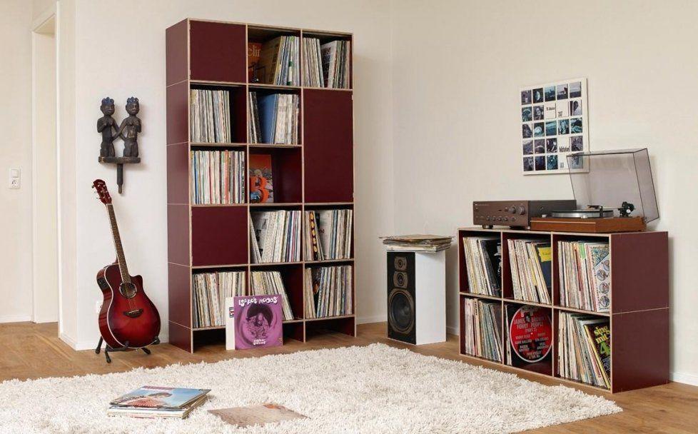 Schallplatten Regal Ikea Mit Regal Schallplatten Metallmabel Vinyl von Schallplatten Regal Selber Bauen Bild