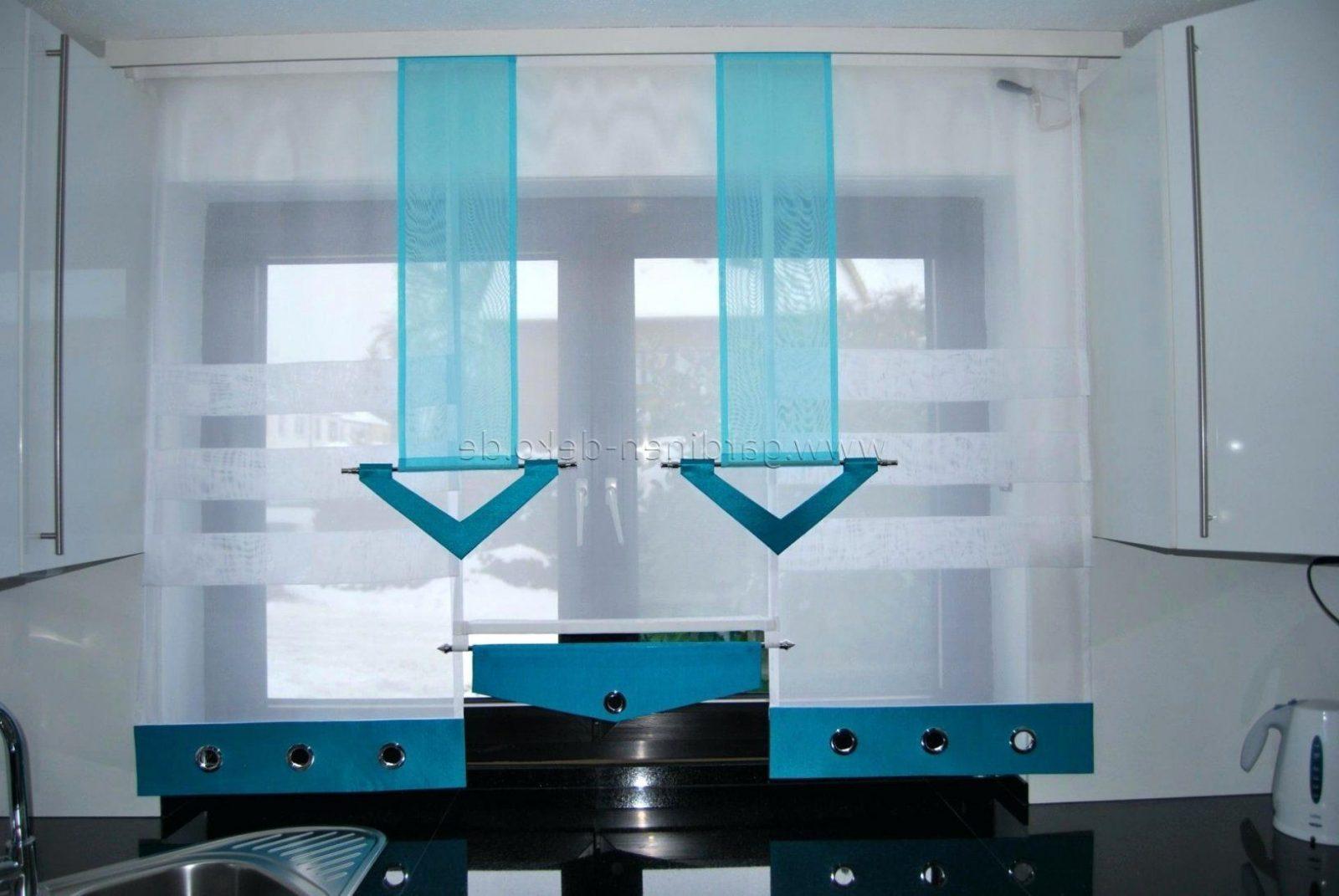 moderne gardinen k che haus design ideen. Black Bedroom Furniture Sets. Home Design Ideas