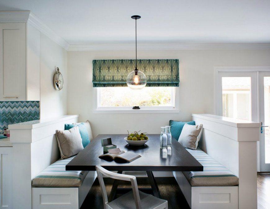 Schicke Sitzecke Küche Für Kleine Küche In Weiß  Freshouse von Kleine Sitzecke Für Küche Photo