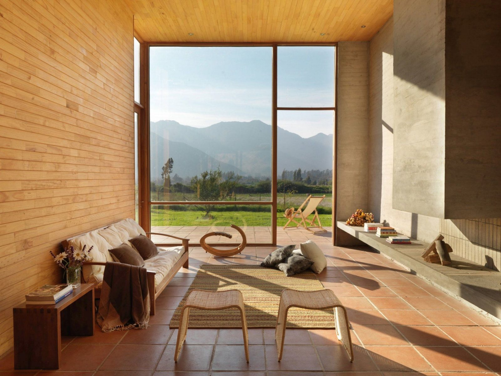 Schickes Wohnambiente 75 Faszinierende Ideen Für Bodentiefe Fenster von Gardinen Ideen Für Bodentiefe Fenster Bild