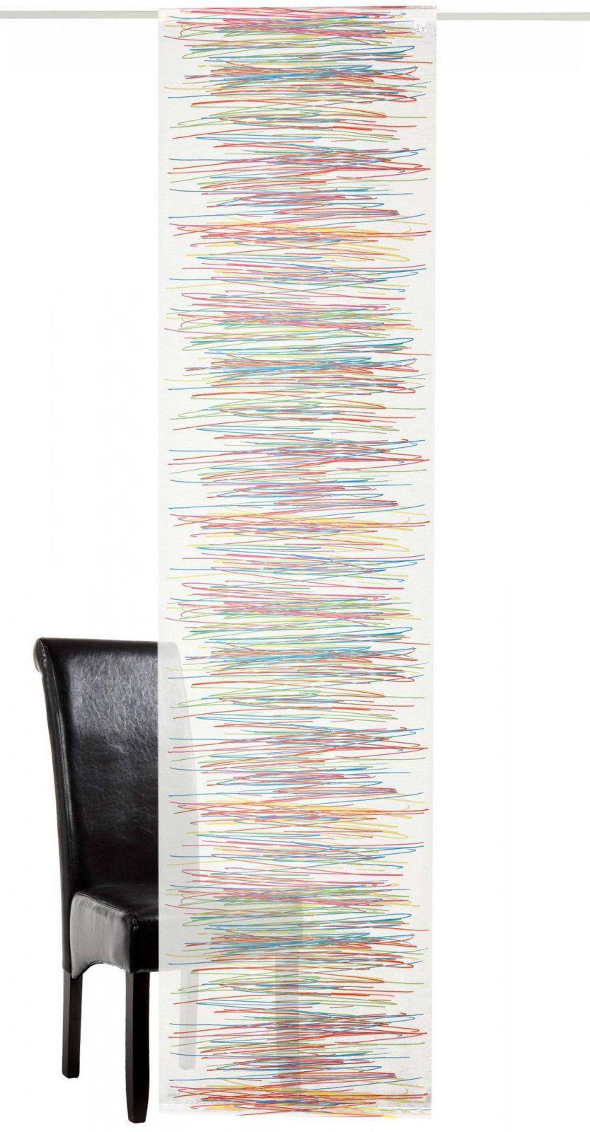 Schiebegardine Deko Trends Fancy Mit Klettband (1 Stück Mit von Schiebegardinen Mit Klettband Waschen Photo