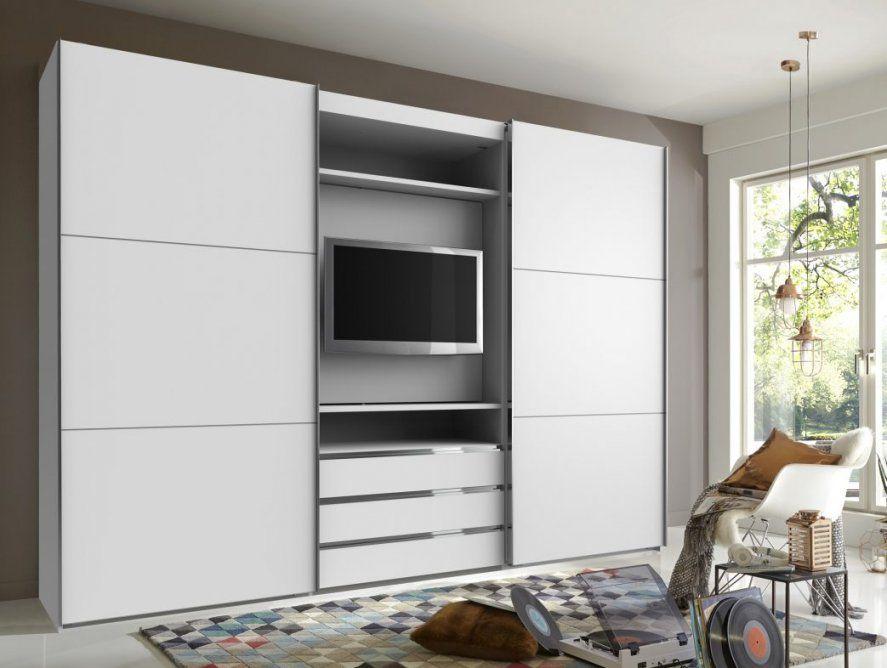 Schlafen Panorama Schwebeturenschrank Kleiderschrank Schlafzimmer von Kleiderschrank Mit Tv Fach Bild