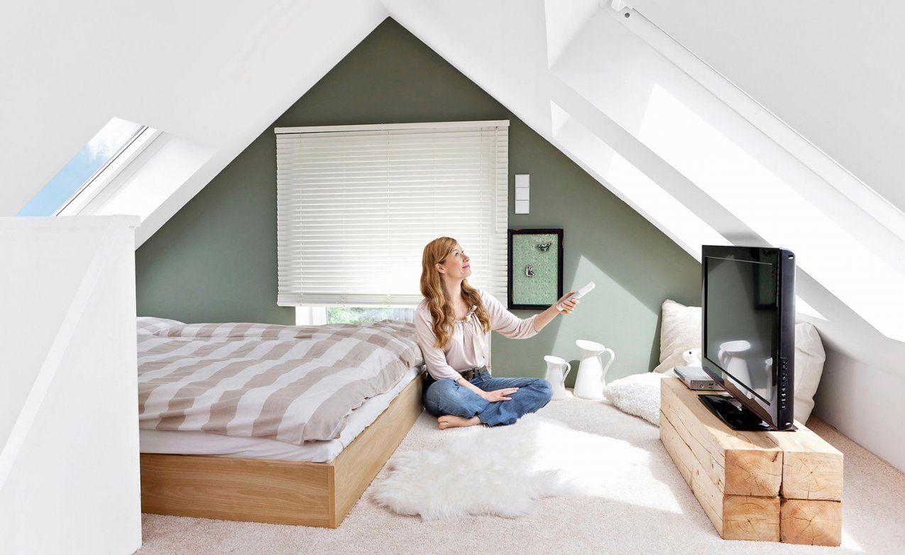 Schlafzimmer Mit Dachschräge Farblich Gestalten | Haus Design Ideen
