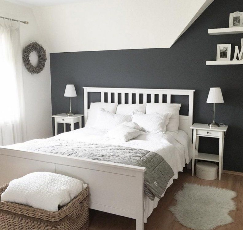 Schlafzimmer Ideen Schräge Und Interessant Zimmer Mit Schrägen von Schräge Wände Streichen Ideen Photo