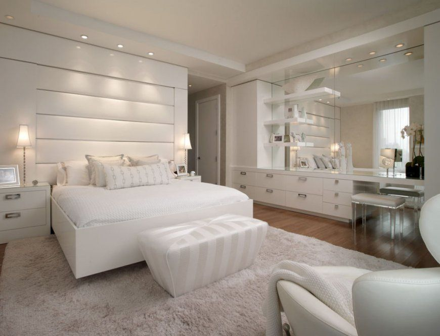 Schlafzimmer Ideen Weiß  Uruenavilladellibro von Schlafzimmer In Weiß Einrichten Photo
