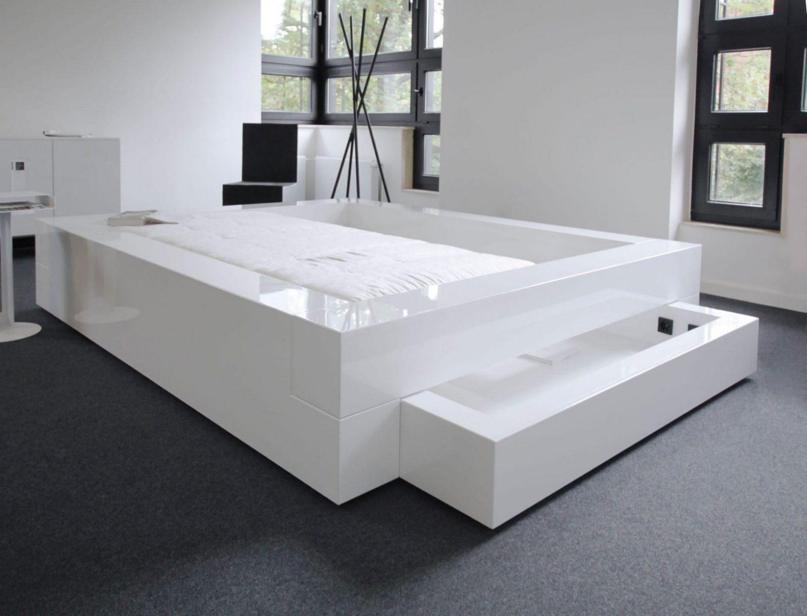 Schlafzimmer Komplett In Weissem Hochglanzlack – Rechteck Felix Schwake von Schlafzimmer Komplett Hochglanz Weiss Photo