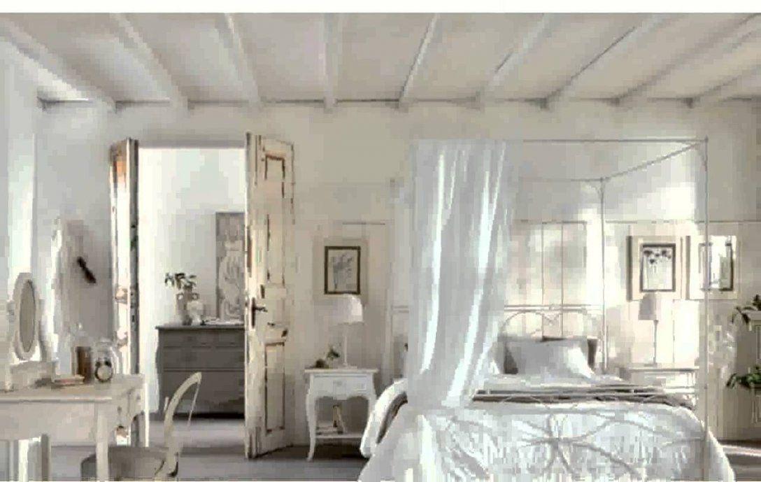 Schlafzimmer Landhausstil Gestalten Ideen  Youtube von Schlafzimmer In Weiß Einrichten Photo