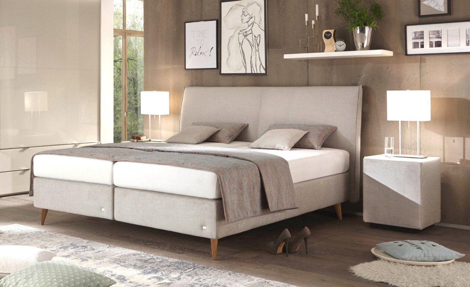 Schlafzimmer Mit Boxspringbett Hervorragend Neueste Herausragende von Boxspringbett Ruf Verena Bild