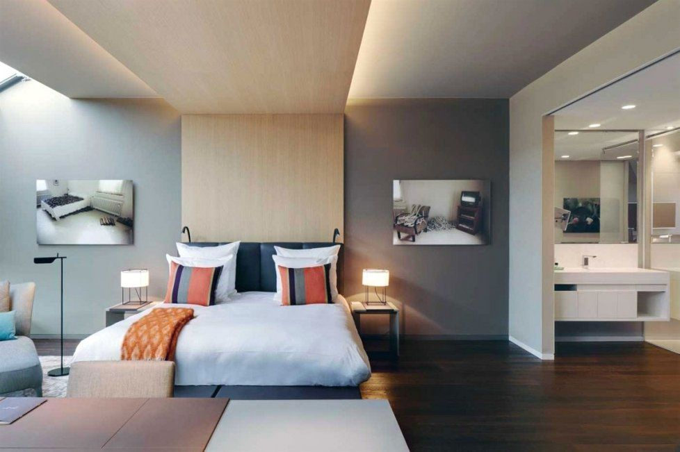 Schlafzimmer Dachschräge Farblich Gestalten | Haus Design Ideen