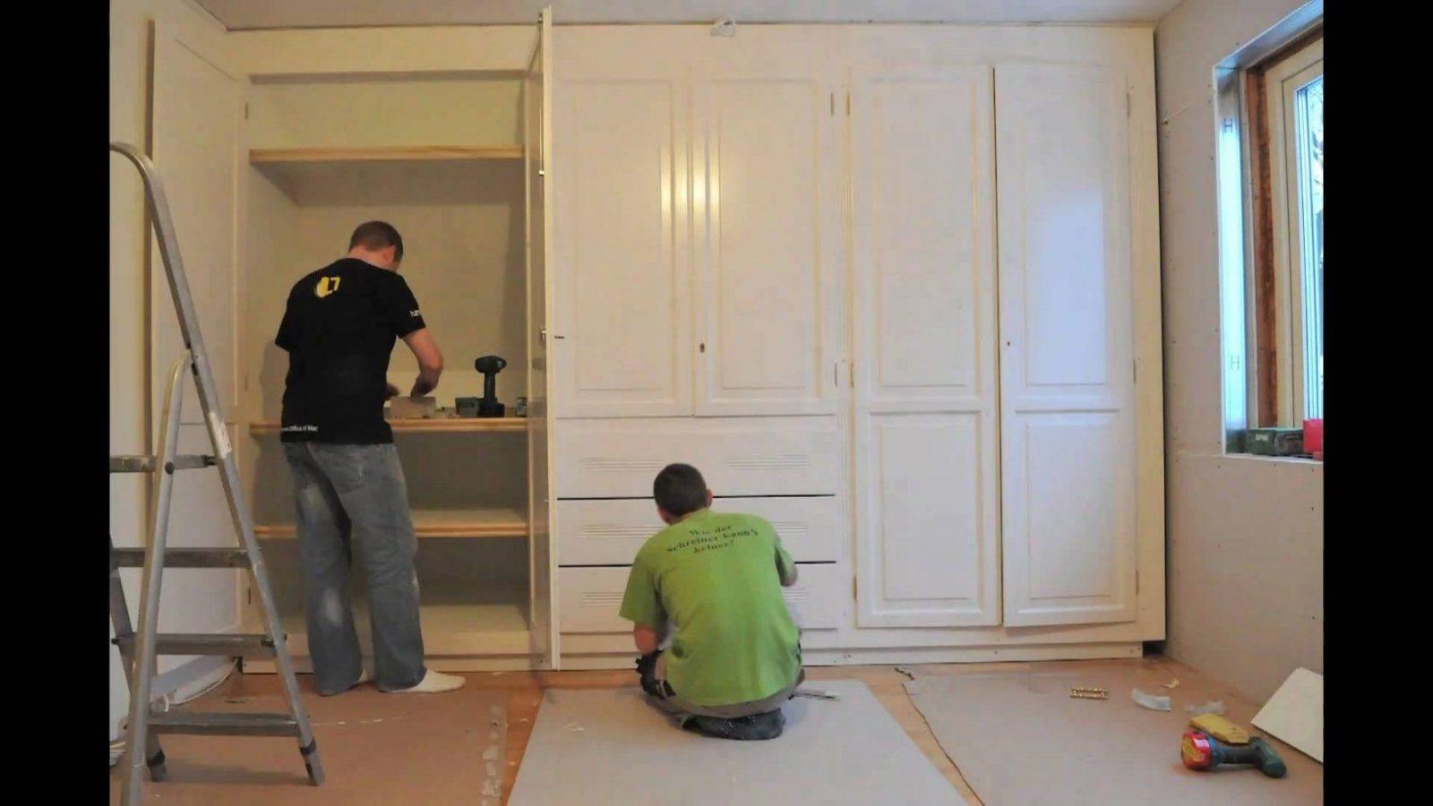 Schlafzimmerschrank Selber Bauen  Uruenavilladellibro von Begehbarer Kleiderschrank Selber Bauen Kosten Photo