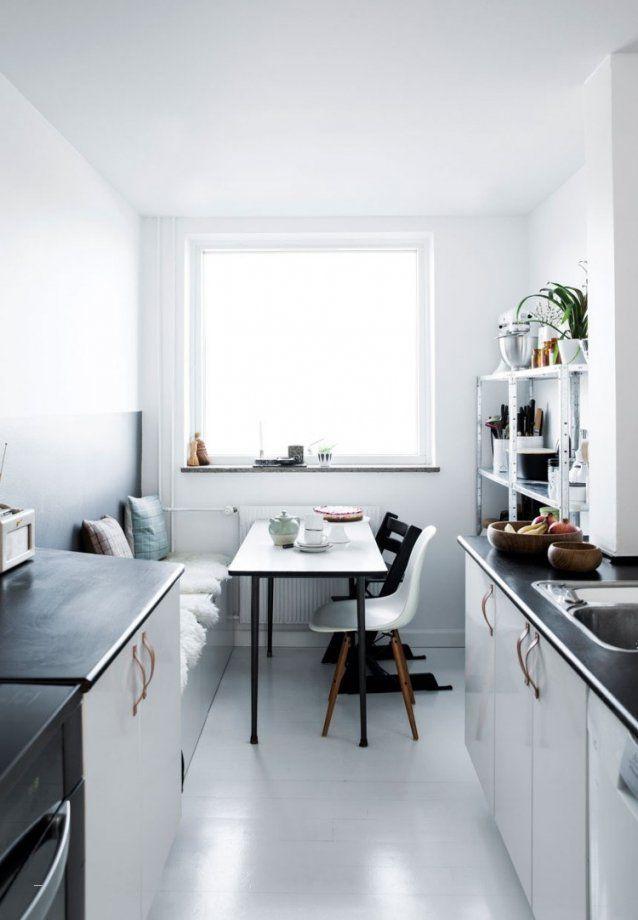 Schmale Küche Gestalten Elegant Tisch Kleine Küche Dekoration von ...