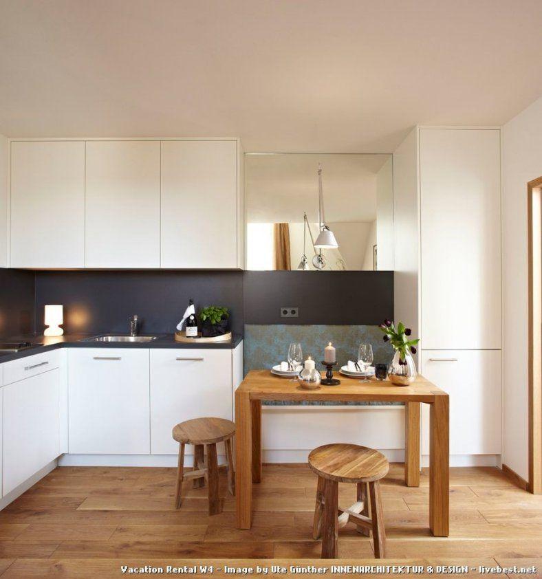 Schmale Küche Mit Esstisch Wandgestaltung Essplatz von Schmale Küche Mit Essplatz Photo