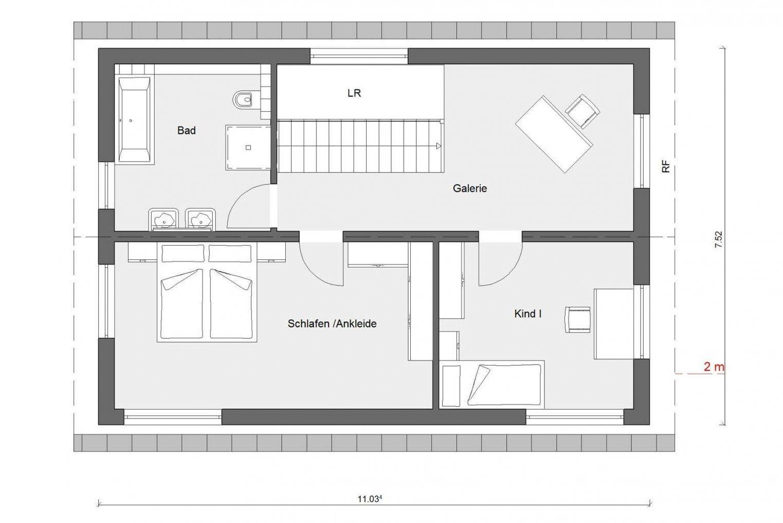 Schmales Fertighaus  Schwörerhaus von Langes Schmales Haus Grundriss Photo