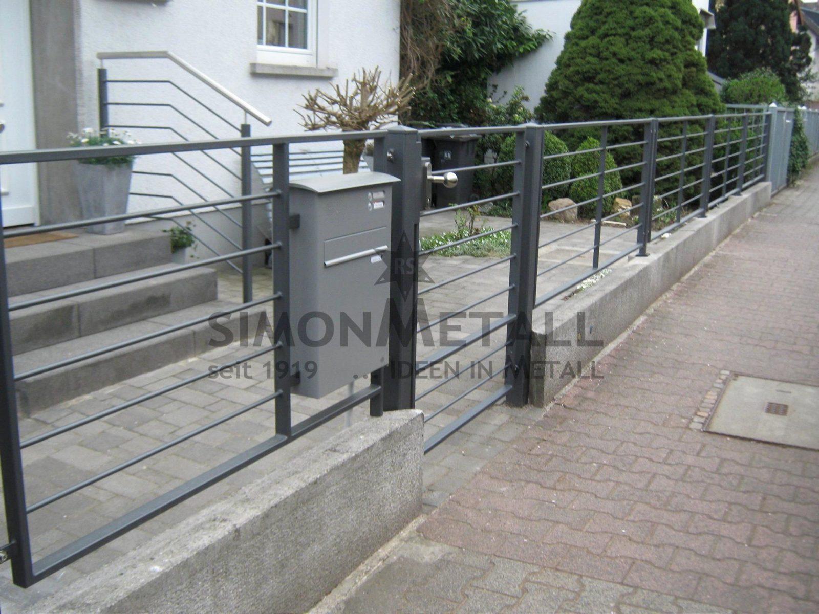 Schmiedeeisen Zaun Selber Bauen Elegant Luxus Zäune Aus Metall von Schmiedeeisen Zaun Selber Bauen Bild