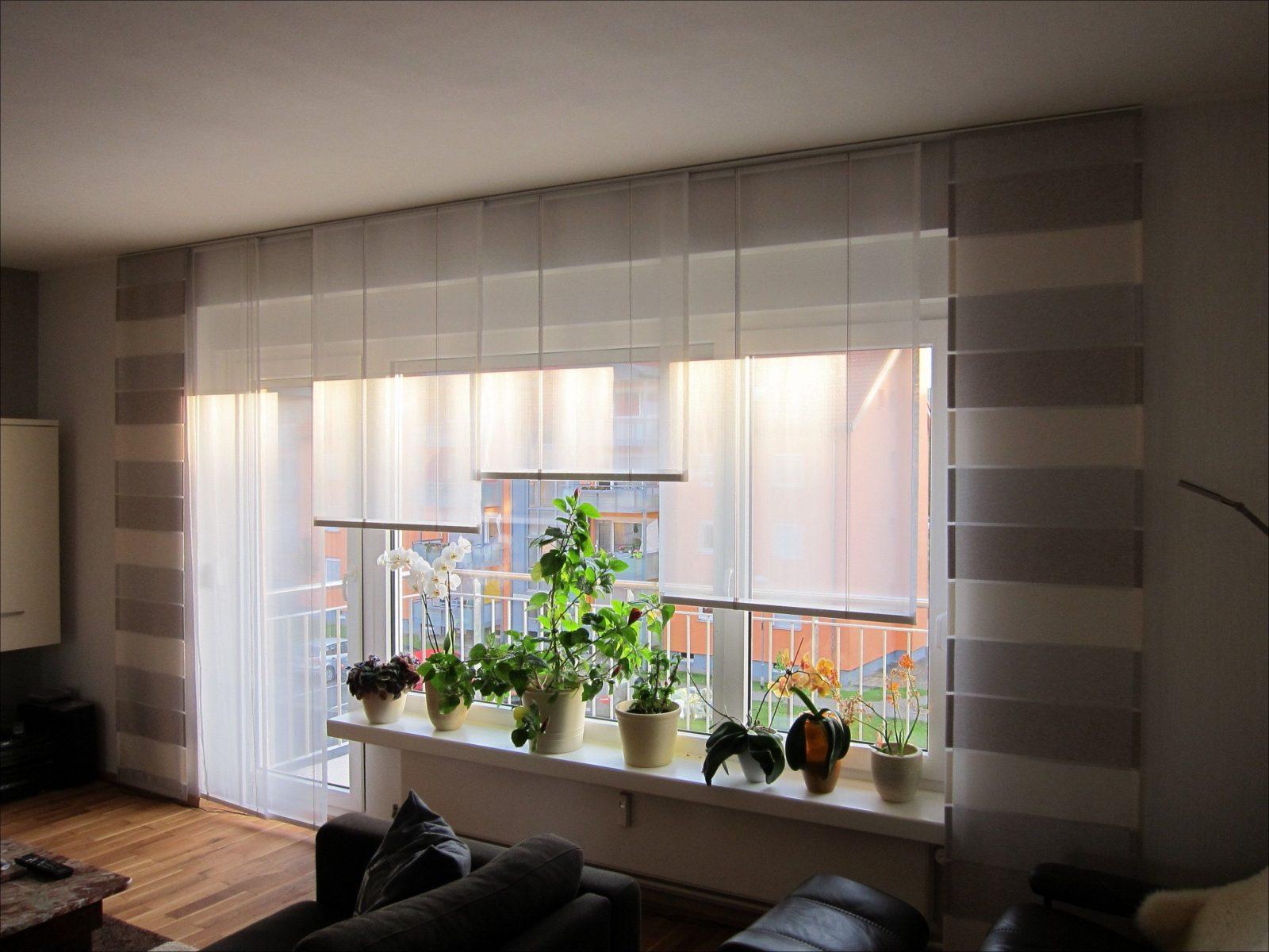Schön Gardinen Für Wohnzimmerfenster Mit Balkontür Ideen von Gardinen Für Wohnzimmerfenster Mit Balkontür Bild
