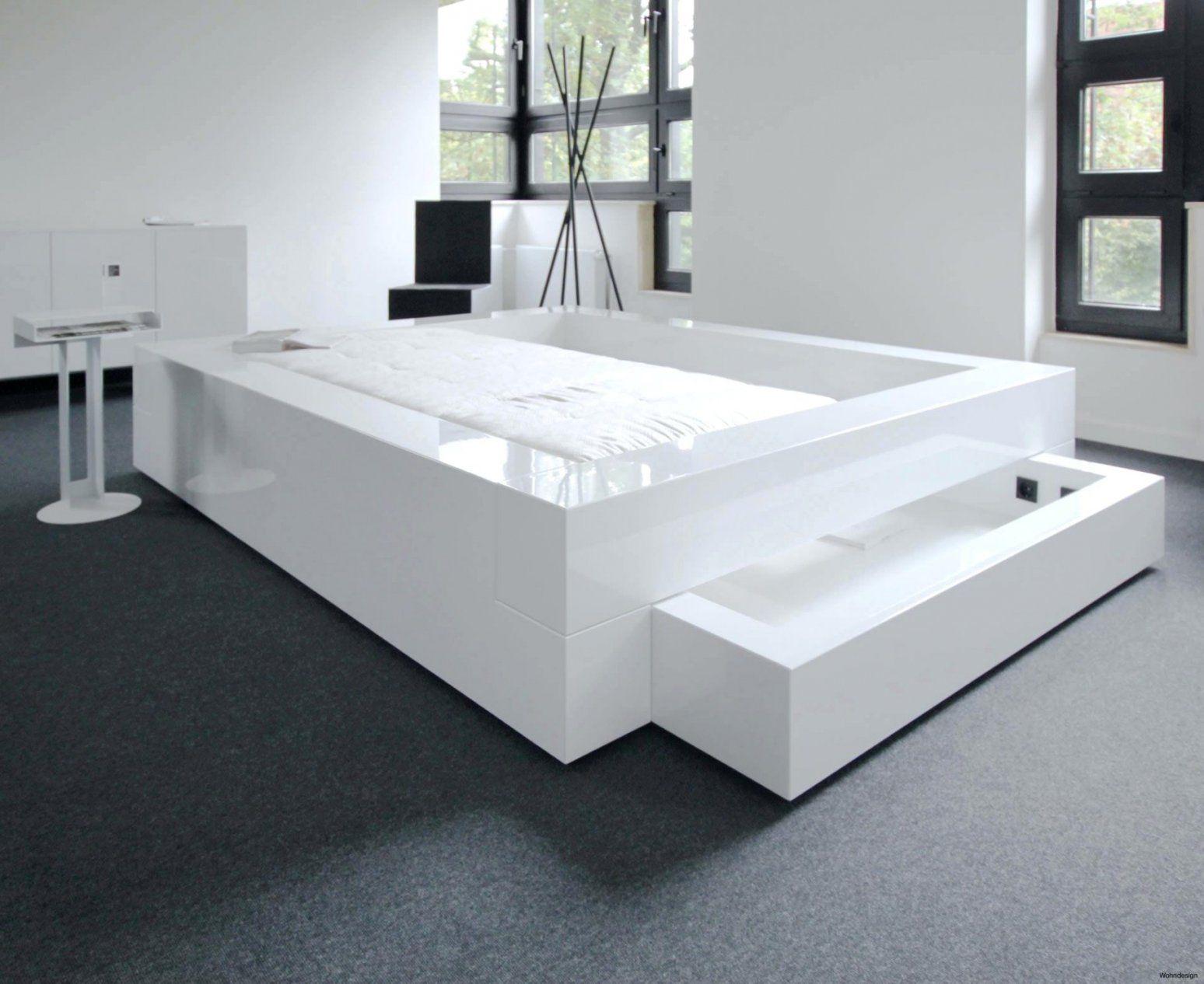 Hochglanz Bett Weiß 140x200 Haus Design Ideen