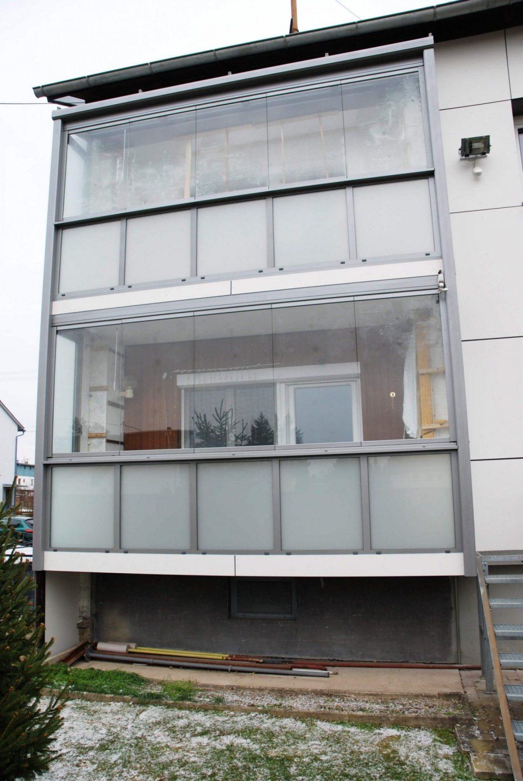 Schön Windschutz Terrasse Transparent Beautiful Ohne Rahmen With Für von Sichtschutz Balkon Seitlich Ohne Bohren Bild