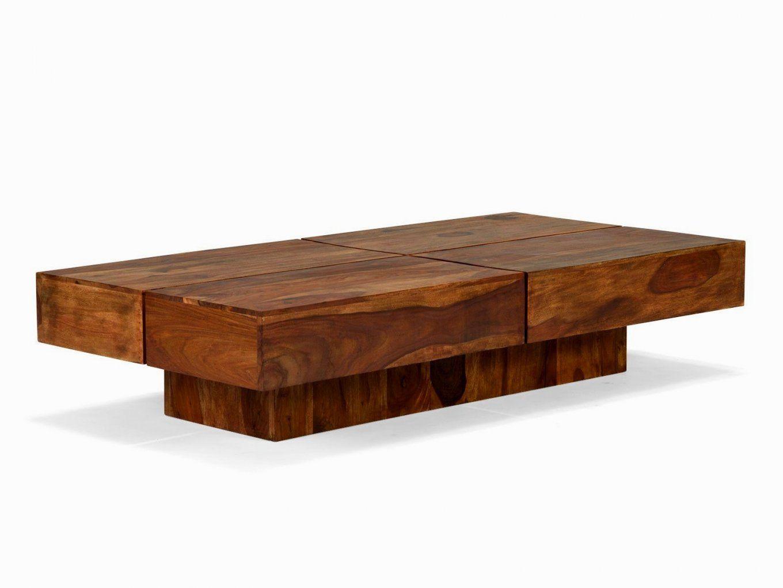 Schon Wohnzimmertisch Holz Massiv Couchtisch Cube Square 140X70 Rund von Couchtisch Holz Braun Bild