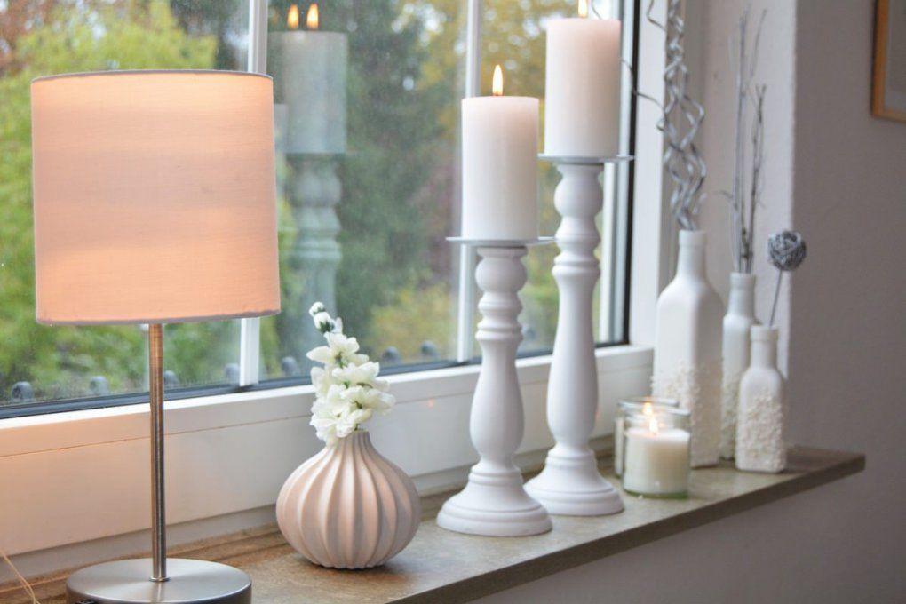 Schöne Aussichten  Fensterdekoration Ohne Gardinen von Fensterdeko Statt Gardinen Bild