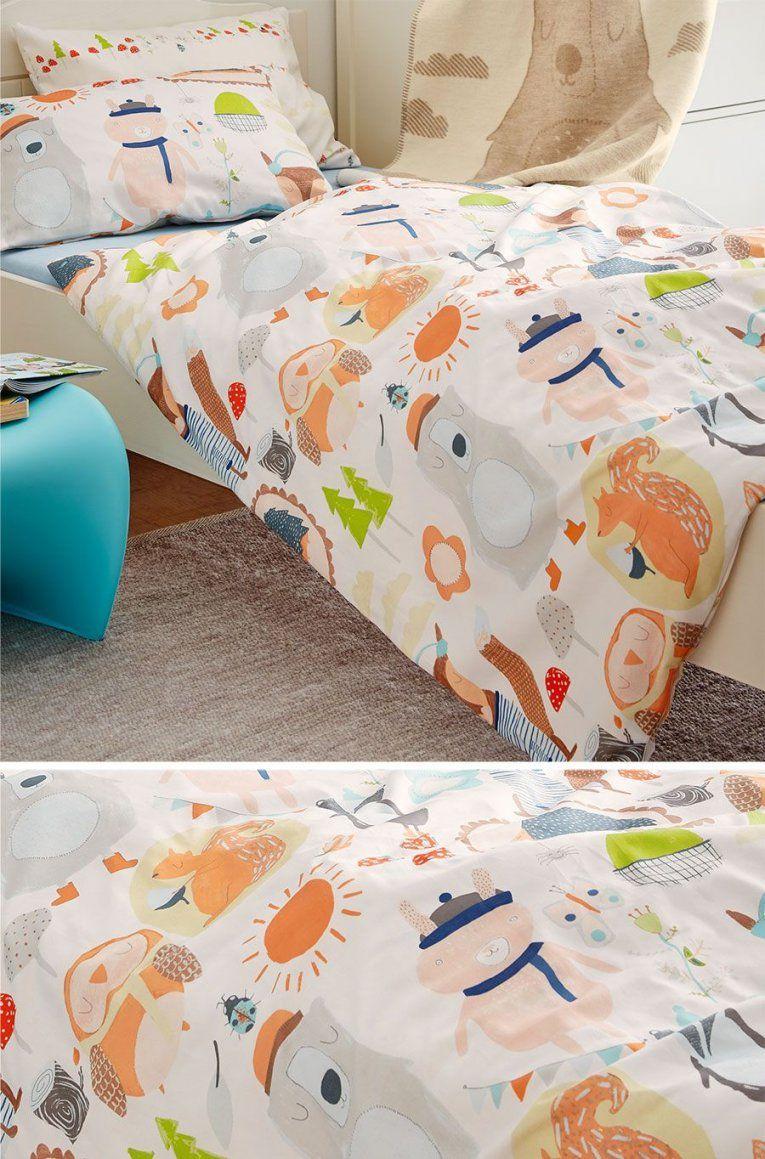 Schöne Babybettwäsche Für Jungs Oder Mädchen  Betten Baby von Bettwäsche Mit Tiermotiv Photo
