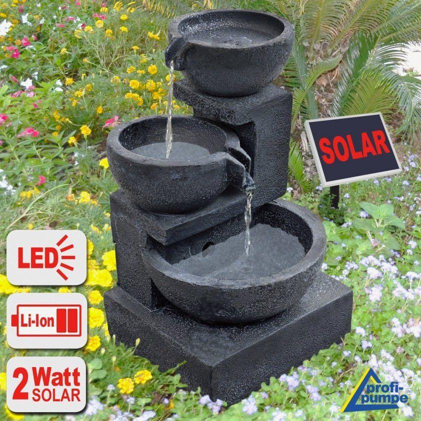 Schöne Brunnen Garten Kosten Auch Solarbrunnen Garten Led von Brunnen Im Garten Kosten Bild
