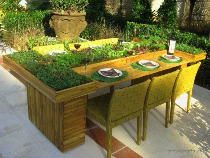 Schone Gartentisch Selber Bauen Kreativ Kreativ Gartenmbel Selber