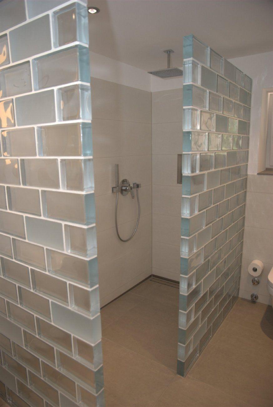 Schöne Glasbausteine Für Dusche Badezimmer Inspiration Erstaunlich