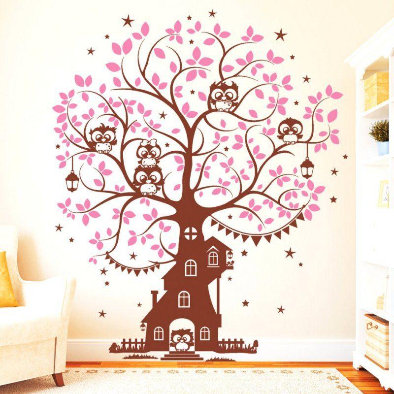 Schöne Ideen Wandtattoo Baum Kinderzimmer Xxl Und Wunderbare von Wandtattoo Baum Kinderzimmer Xxl Bild