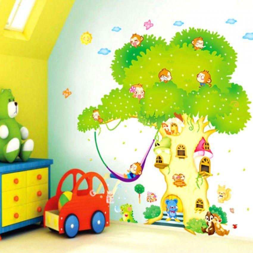 Schöne Ideen Wandtattoo Kinderzimmer Junge Tiere Und Attraktive von Wandtattoo Kinderzimmer Junge Tiere Photo