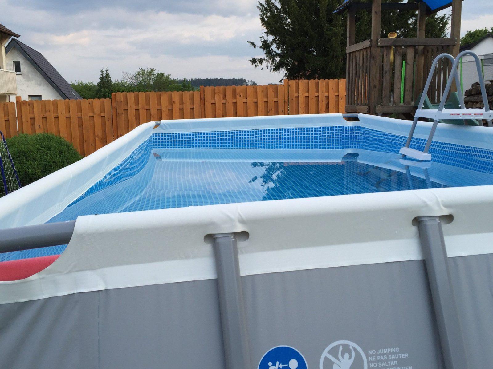 Schöne Pool Für Garten Frame Pool Aufstellen Schã Nsten von Pool Im Garten Aufstellen Photo