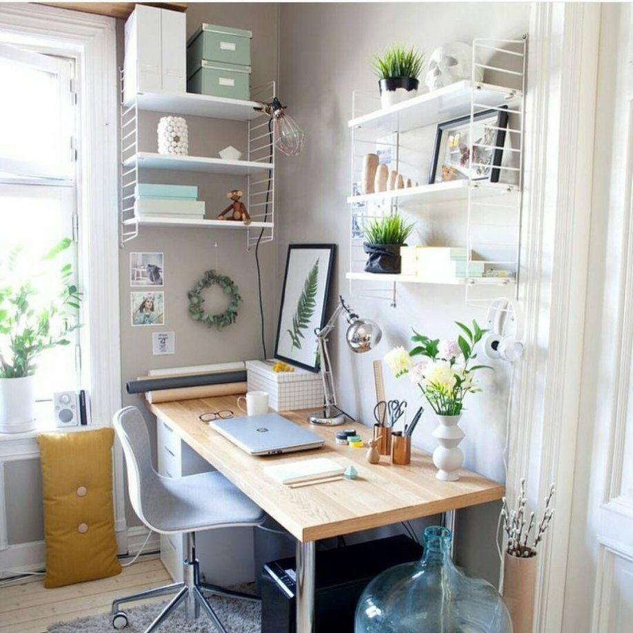 Schöne Regale Und Geräumige Kisten Bieten Platz Für All Deine Sachen von Büro Ideen Für Zuhause Bild