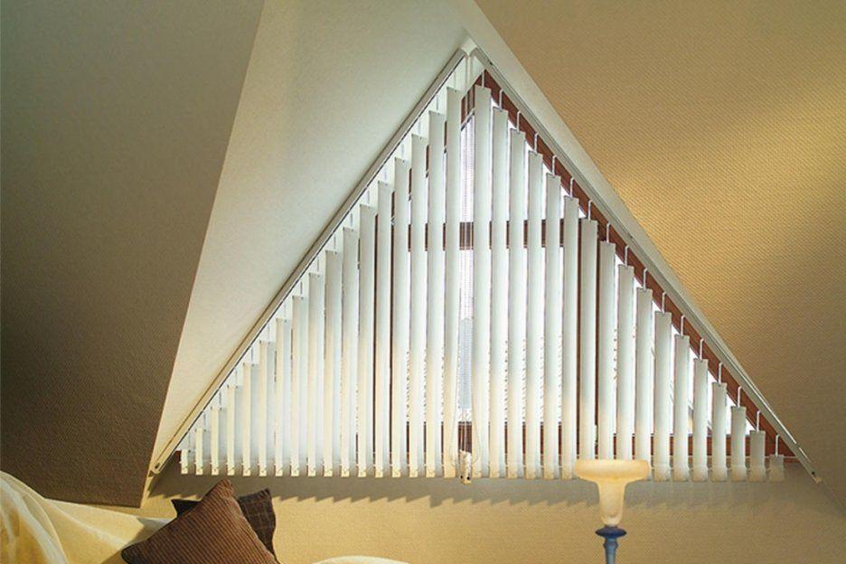 Schöne Rollo Für Dreiecksfenster Alle Fenster Mit Plissee Rollos von Jalousien Für Dreieckige Fenster Bild