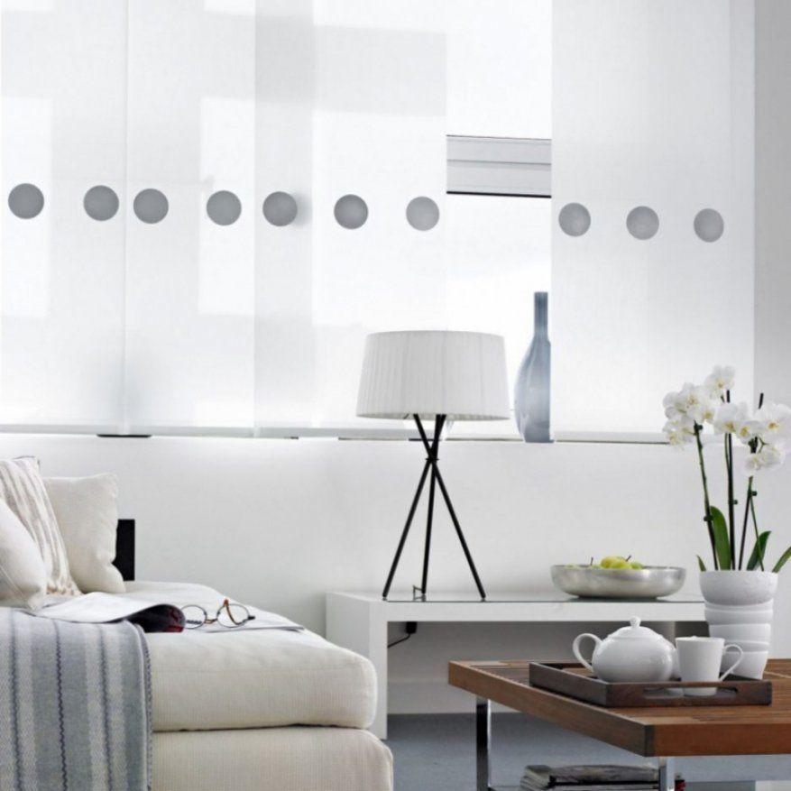 sch ne schiebegardinen kurz und lang kombiniert. Black Bedroom Furniture Sets. Home Design Ideas