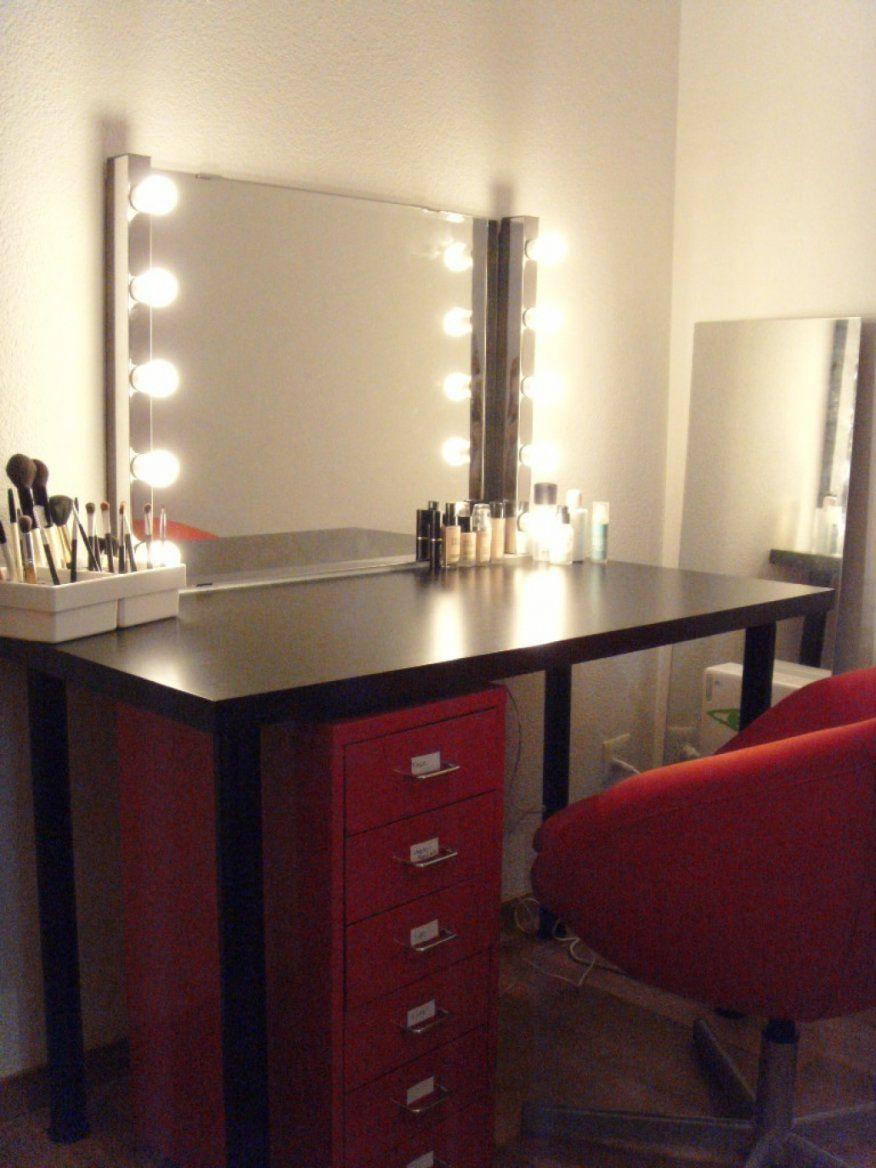 Schöne Schminkspiegel Mit Beleuchtung Ikea Beleuchteter Spiegel Fur von Schminkspiegel Mit Beleuchtung Ikea Bild