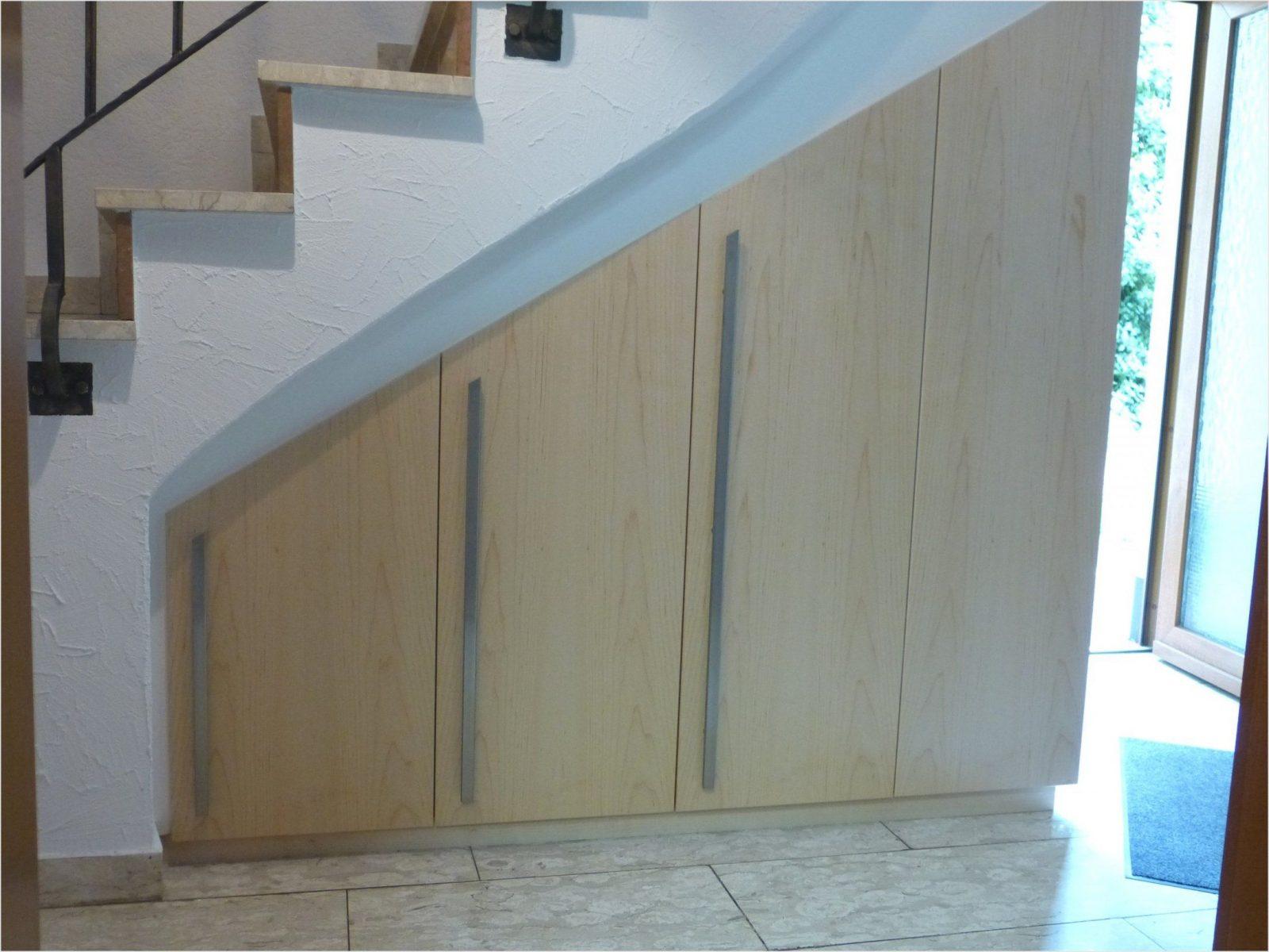 Schöne Schrank Unter Offener Treppe Selber Bauen Beautiful von Schrank Unter Treppe Bauanleitung Bild