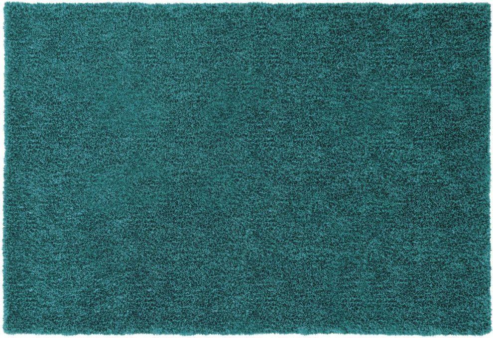 Schöner Wohnen Hochflorteppich Emotion 024 Türkis Teppich von Teppich Grün Türkis Blau Photo