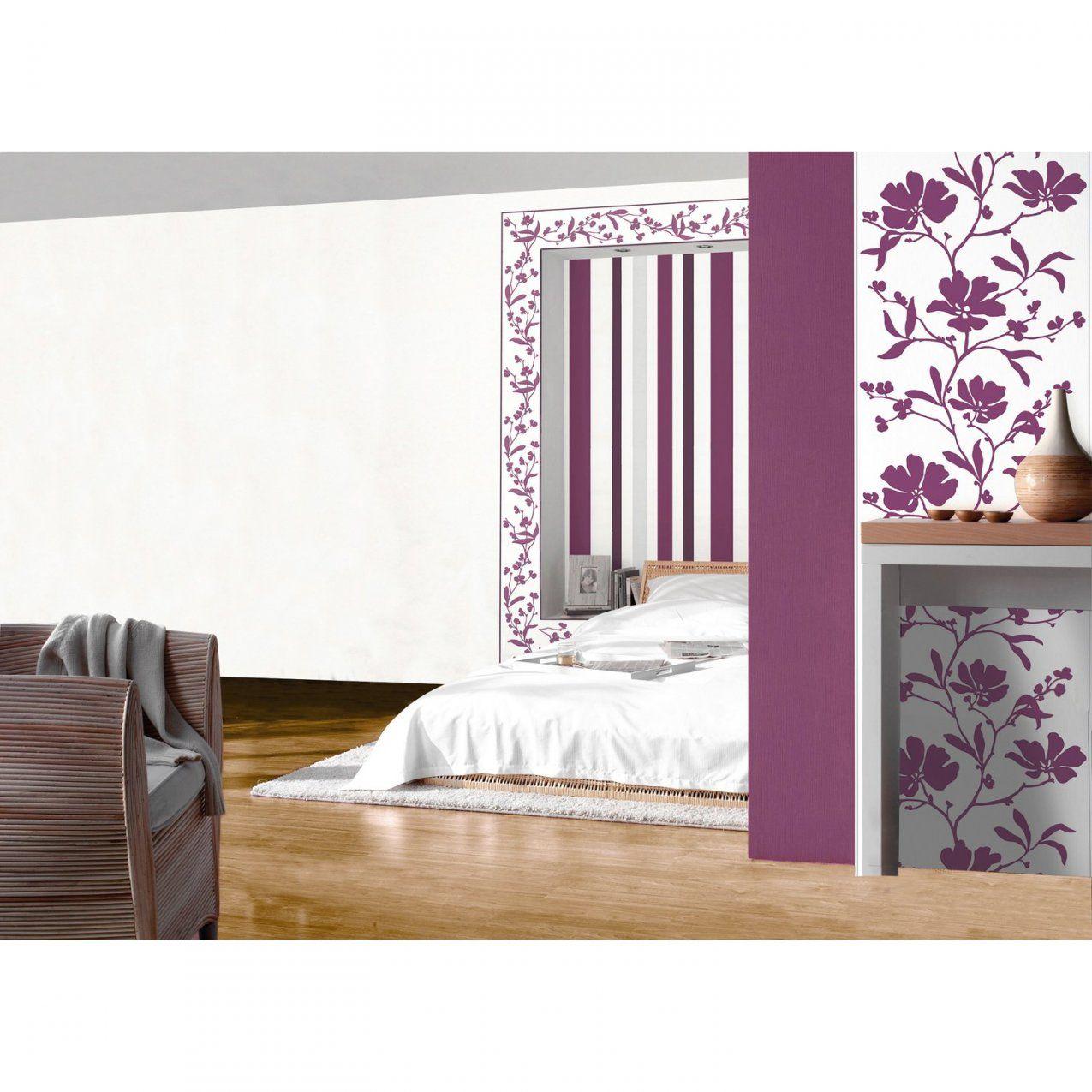 Schöner Wohnenkollektion Vliestapete Streifen Violett Kaufen Bei Obi von Tapeten Schöner Wohnen Kollektion Photo
