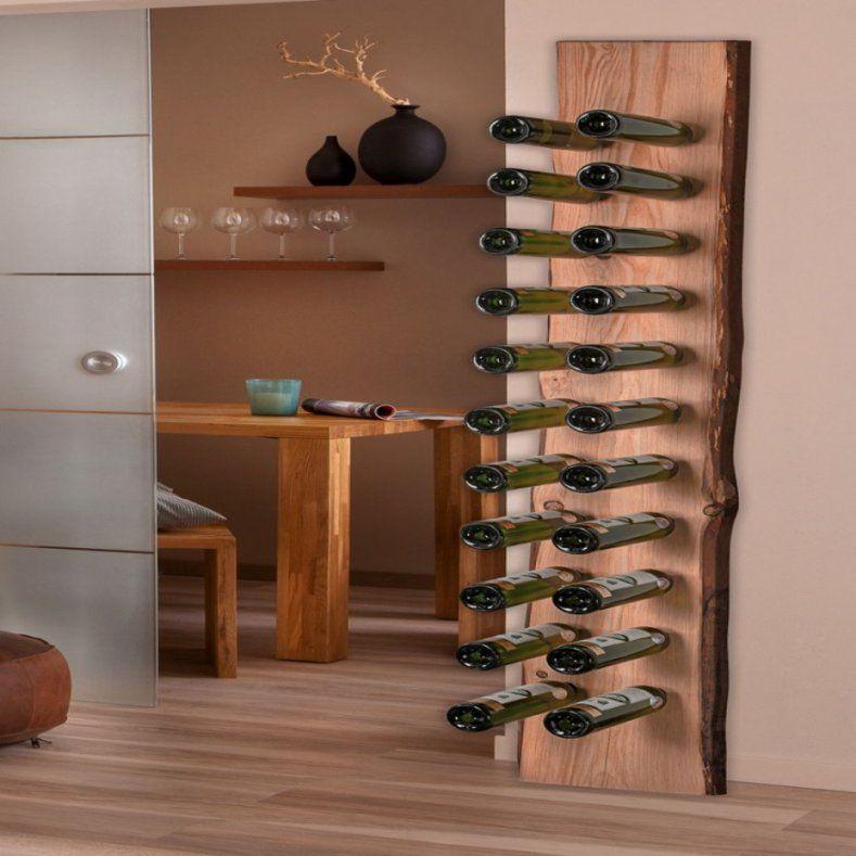 Schönes Moderne Dekoration Aufregend Weinregal Holz Selber Bauen Von
