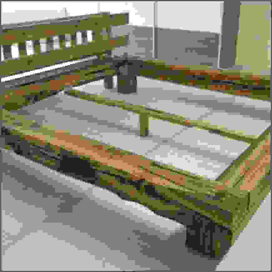 Schönheit Bett Aus Holzbalken Selber Bauen F C3 Bcr Ein Von Bett Aus von Bett Aus Balken Bauen Photo