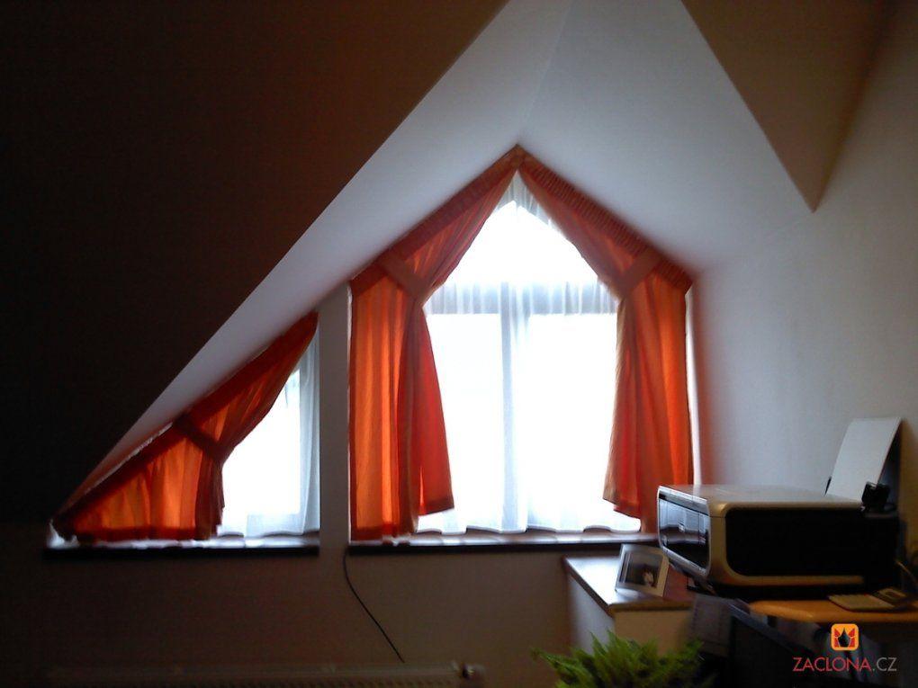 Schräge Decken Schräge Fenster  Heimtex Ideen von Gardinen Für Dreiecksfenster Selber Nähen Bild