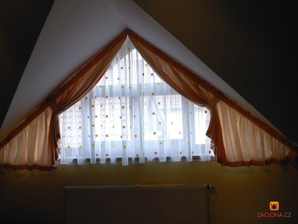 Schräge Decken Schräge Fenster  Heimtex Ideen von Gardinen Schräge Fenster Selber Nähen Bild
